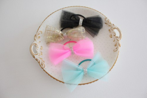 Sparkle Tulle Bows